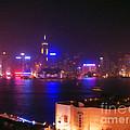 Hong Kong Skyline by Pixel  Chimp
