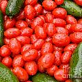 Hot Peppers And Cherry Tomatoes by James BO  Insogna