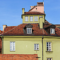 House In The Old Town Of Warsaw by Artur Bogacki