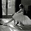 Ida Rubinstein Wearing A Tutu by Phyllis Abbe