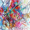 Interchange Between Ambition And Restraint 2 by David Baruch Wolk