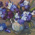 Irises by Diane McClary