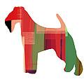 Irish Terrier by Naxart Studio