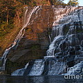 Ithaca Falls  --  Late Afternoon by Anna Lisa Yoder