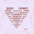 Jesus Christ Message by Georgeta  Blanaru