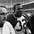 Jim Brown Post Game  by Retro Images Archive