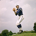 Johnny Unitas Set To Throw by Retro Images Archive