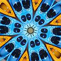 Kaleidoscope Canoes by Amy Cicconi