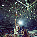 Kareem Abdul Jabbar Sky Hook by Retro Images Archive