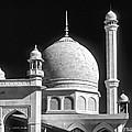 Kashmir Mosque Monochrome by Steve Harrington