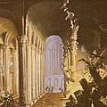 King Asa Of Judah Destroying The Statue by Francois de Nome