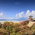 Kiyomizu Dera Temple Kyoto Japan by Colin and Linda McKie