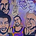 Lakers Love Jerry Buss 1 by Tony B Conscious