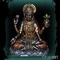 Lakshmi Hindu Goddess by Eva Thomas