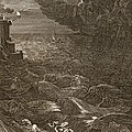 Leander Swims Over The Hellespont by Bernard Picart