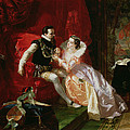 Leicester And Amy Robsart At Cumnor by Edward Matthew Ward