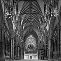 Lincoln Cathedral Nave by Ian Barber