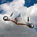 Lockheed Blackbird A12 Trainer by David Murphy