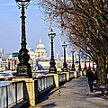 London View From South Bank by Elena Elisseeva