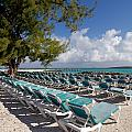 Lounge Chairs On The Beach by Amy Cicconi