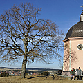 Lovely Little Chapel And A Tree by Matthias Hauser