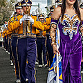 Lsu Marching Band 5 by Steve Harrington