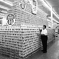 Massive Beer Display by Retro Images Archive