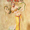 Mata Hari Vintage Wine Ad by Cinema Photography