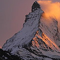Matterhorn At Sunset by Jetson Nguyen