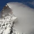 Matterhorn Peak Shrouded In Clouds by Jetson Nguyen