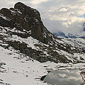 Matterhorn Shrouded In Clouds by Jetson Nguyen