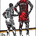 Micheal Jordan 1 by Jeremiah Colley