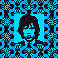 Mick Jagger Abstract Window P168 by Wingsdomain Art and Photography
