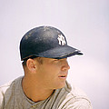 Mickey Mantle Ready To Swing by Retro Images Archive