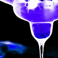Midnight Blue Margarita Breeze by Wingsdomain Art and Photography