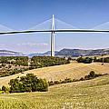 Millau Viaduct Panorama Midi Pyrenees France by Colin and Linda McKie