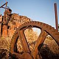 Mining Artefacts Historical Antique Machinery by Dirk Ercken