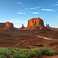 Monument Valley Sundown