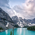 Moraine Cloud Burst by Jon Glaser