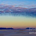 Morning Begins In White Sands by Sandra Bronstein