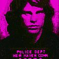 Mugshot Jim Morrison M88 by Wingsdomain Art and Photography