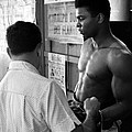 Muhammad Ali Coming Out Of Dressing Room by Retro Images Archive