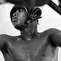 Muhammad Ali Looking Through Ropes by Retro Images Archive