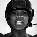 Muhammad Ali Teeth Gritted by Retro Images Archive