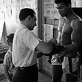 Muhammad Ali With Trainer by Retro Images Archive