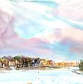New England Landscape No.216 by Sumiyo Toribe