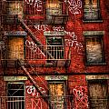 New York City Graffiti Building by Amy Cicconi