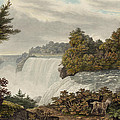 Niagara Falls Circa 1829 by Aged Pixel