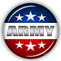 Nice Army Shield by Pamela Johnson