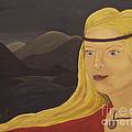Norse Goddess Freya by Megan Cockrell